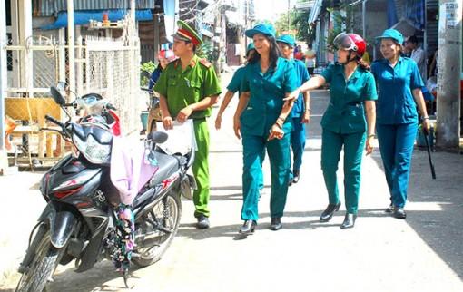 Khi phụ nữ tham gia giữ gìn an ninh trật tự