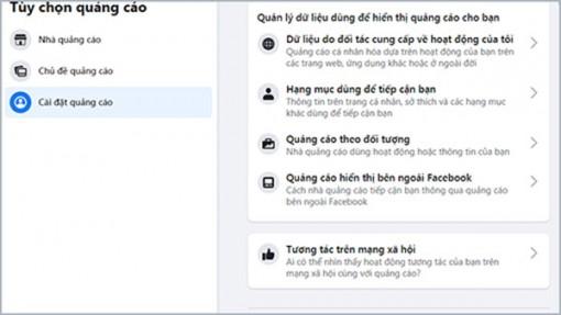 Cách ngăn chặn các ứng dụng theo dõi trên Facebook