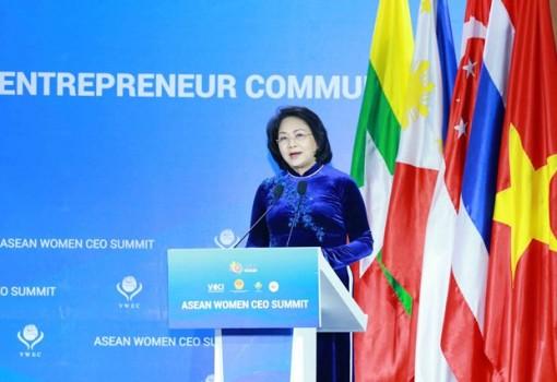 Vice President calls for solidarity among ASEAN businesswomen