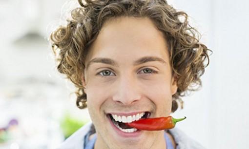 Sống thọ hơn nhờ ăn ớt