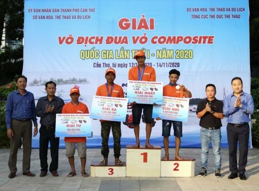 Bế mạc Giải vô địch đua vỏ composite quốc gia lần thứ I năm 2020 tại Cần Thơ