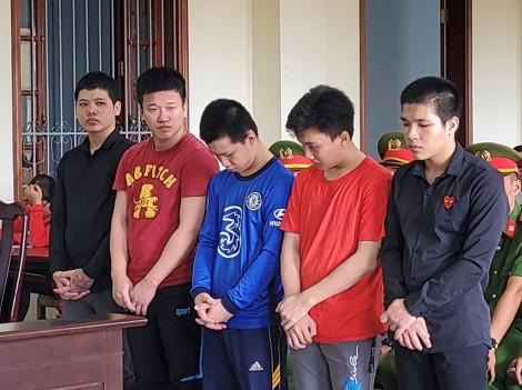 Giết người, 5 bị cáo lãnh án