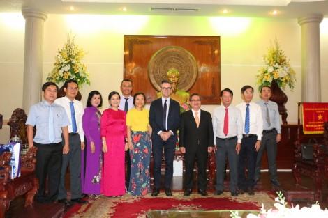 Lãnh đạo thành phố tiếp Đại sứ Liên minh Châu Âu tại Việt Nam