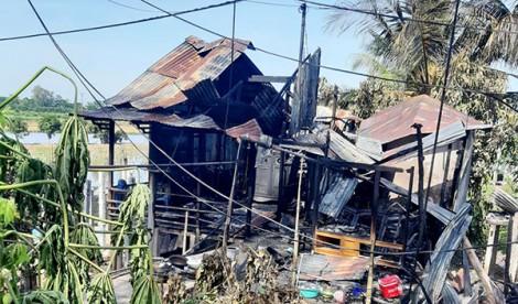 An Giang: Hỏa hoạn thiêu rụi 7 căn nhà
