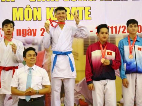 Cần Thơ đoạt 5 HCV ngày đầu môn Karatedo Đại hội Thể thao ĐBSCL