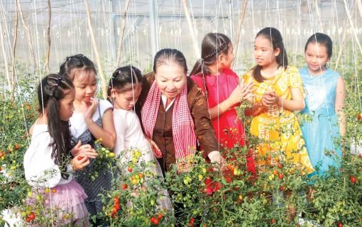 Điểm đến mới về canh nông ở An Giang