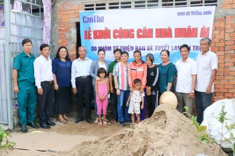 Báo Cần Thơ khởi công Căn nhà nhân ái cho hộ nghèo ở xã Trường Xuân