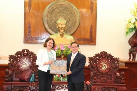Lãnh đạo TP Cần Thơ tiếp Đại sứ Australia tại Việt Nam