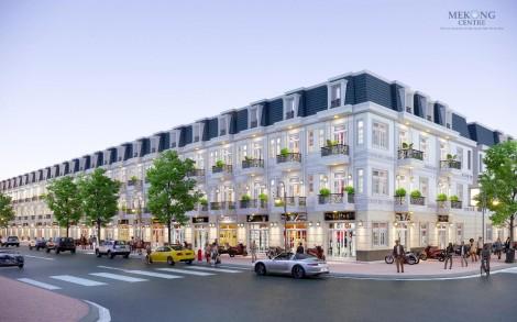 Mekong Centre tiên phong kết hợp nghỉ dưỡng và kinh doanh với nhà phố thương mại cao cấp