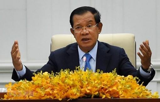 Cambodian PM appreciates Vietnam's support in struggle for national liberation