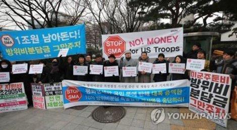 Dân Hàn thất vọng về nước Mỹ