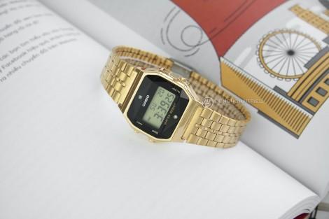 Đồng hồ điện tử nữ cá tính theo phong cách Vintage Gold