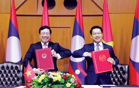 Không ngừng thúc đẩy quan hệ hợp tác Việt Nam - Lào