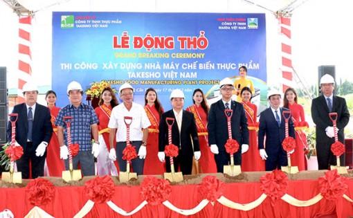 Xây dựng Nhà máy chế biến thực phẩm Takesho Food tại TP Cần Thơ