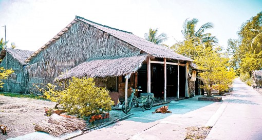 Không gian nhà ở vùng nông thôn ĐBSCL xưa