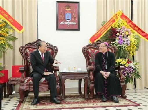 Deputy PM extends Christmas greetings to Catholics