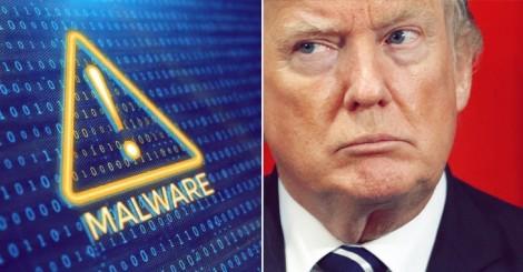 Tin tặc sử dụng video giả mạo Tổng thống Trump để phát tán virus