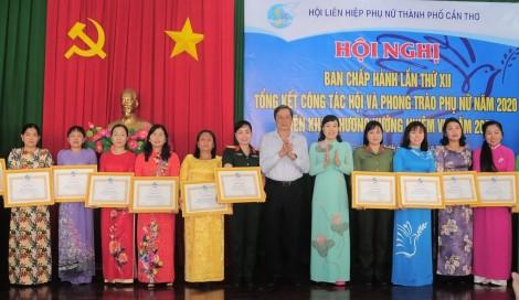 Xây dựng tổ chức Hội vững mạnh, chăm lo, bảo vệ quyền và lợi ích của phụ nữ