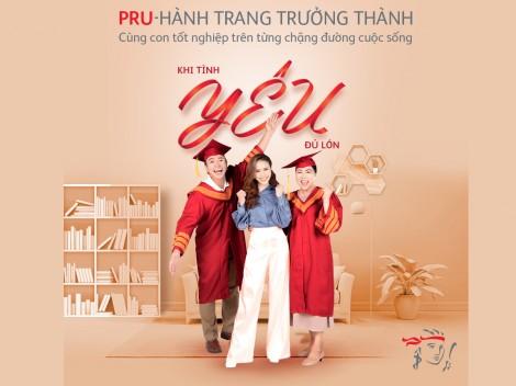 """Prudential ra mắt sản phẩm giáo dục """"PRU-Hành Trang Trưởng Thành"""""""