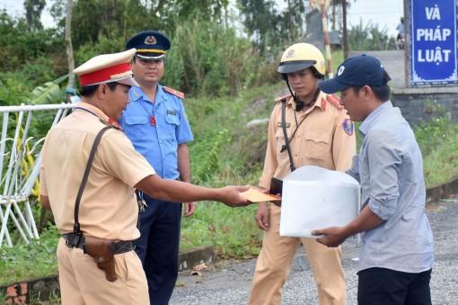 Tăng cường công tác phối hợp tuyên truyền trật tự an toàn giao thông