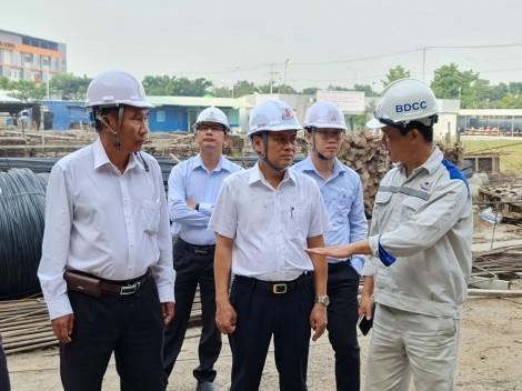 Lãnh đạo TP Cần Thơ kiểm tra tiến độ công trình vốn ODA