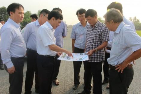 Đẩy nhanh tiến độ xây dựng và hoàn thành tỉnh lộ 922 vào dịp 30-4-2021