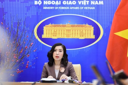 Vietnam advocates rule-of-law principle on seas and oceans: Spokesperson