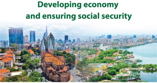 Achievements in developing economy, ensuring social security