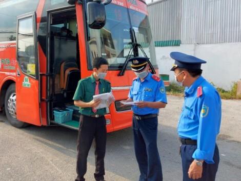 Tăng cường kiểm tra việc thực hiện các biện pháp phòng, chống dịch COVID-19 trong hoạt động vận tải hành khách