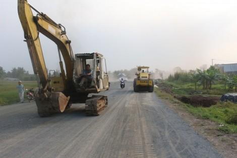 Nỗ lực để đưa công trình nâng cấp tỉnh lộ 922  vào sử dụng