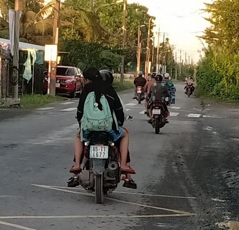 Hiểm họa tai nạn trên các tuyến đường giao thông nông thôn