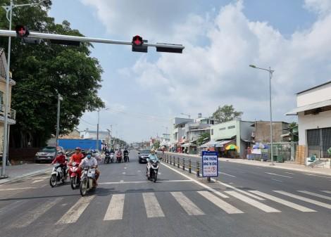 Cơ bản hoàn thành công trình đường Trần Hoàng Na