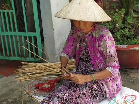 Sức sống làng nghề đan đát Long Giang