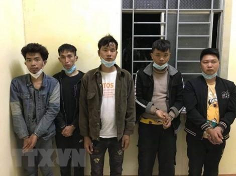 Long An: Bắt giữ 5 người nước ngoài xuất, nhập cảnh trái phép