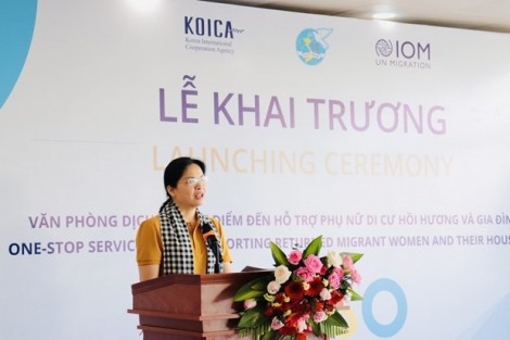 Can Tho office to support reintegration of returning migrant women