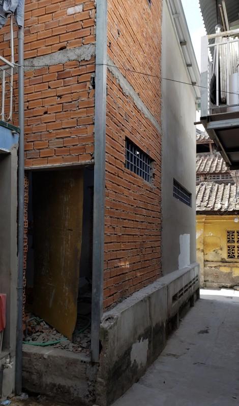 Phải xin phép xây dựng khi sửa nhà làm thay đổi kết cấu ban đầu