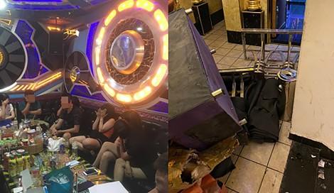 Triệt phá điểm sử dụng trái phép  ma túy trong quán karaoke