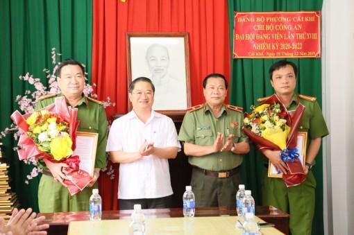 Chủ tịch UBND thành phố khen thưởng các đơn vị phá án nhanh vụ nổ súng do mâu thuẫn tại Cần Thơ
