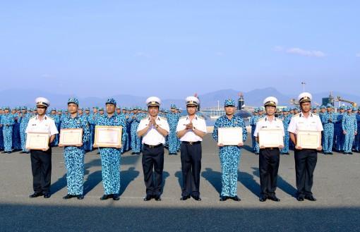 """Lữ đoàn Tàu ngầm 189: Phát động thi đua cao điểm """"Đoàn kết lập công, tô hồng truyền thống"""""""