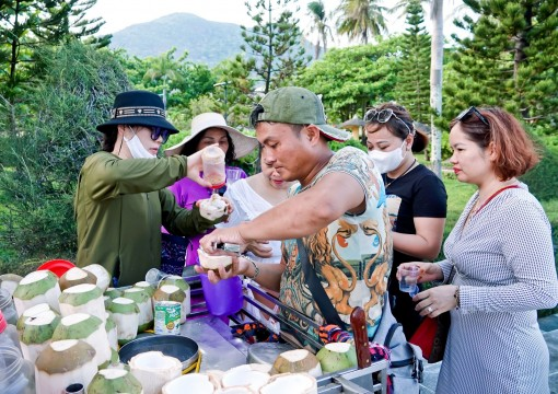 Kem Côn Đảo dừa đất