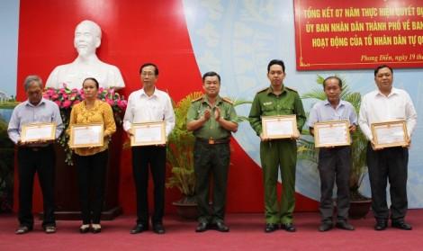 Phát huy vai trò Tổ Nhân dân tự quản trong giữ gìn an ninh trật tự