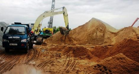 Khan hiếm cát xây dựng ở ĐBSCL