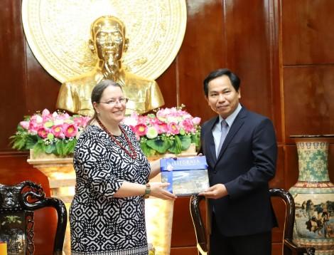Lãnh đạo thành phố tiếp Tổng lãnh sự Hoa Kỳ tại TP Hồ Chí Minh