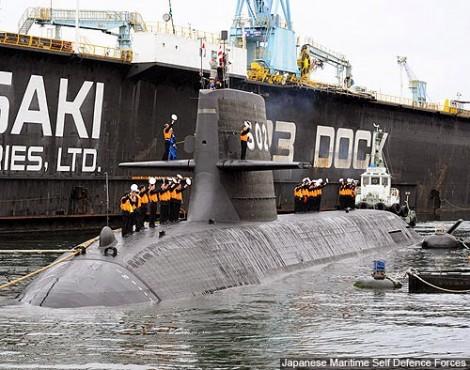 """Mỹ muốn dùng tàu ngầm Nhật """"chặn"""" Trung Quốc"""