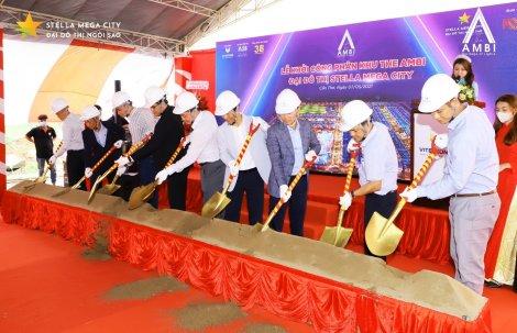 KITA Group chính thức khởi công phân khu The Ambi đại đô thị Stella Mega City ️
