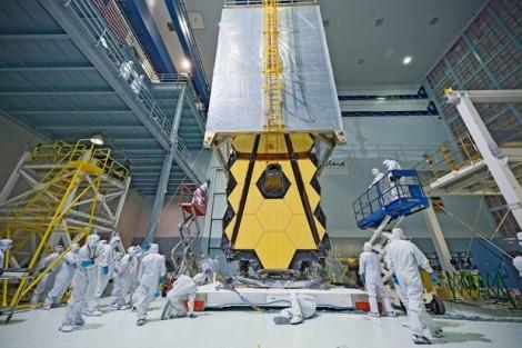 Kính thiên văn khổng lồ James Webb sẵn sàng vào không gian