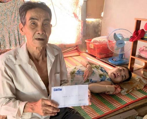 Bạn đọc Báo Cần Thơ gởi tiền giúp ông Trần Minh Hải