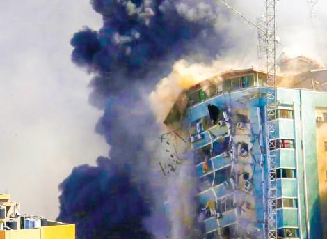 Nhà riêng của thủ lĩnh Hamas  ở Gaza trúng không kích