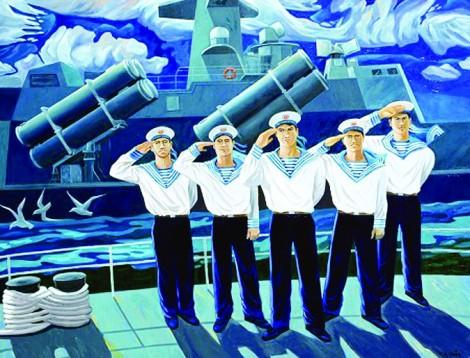 Những vần thơ ươm mầm tình yêu người lính biển