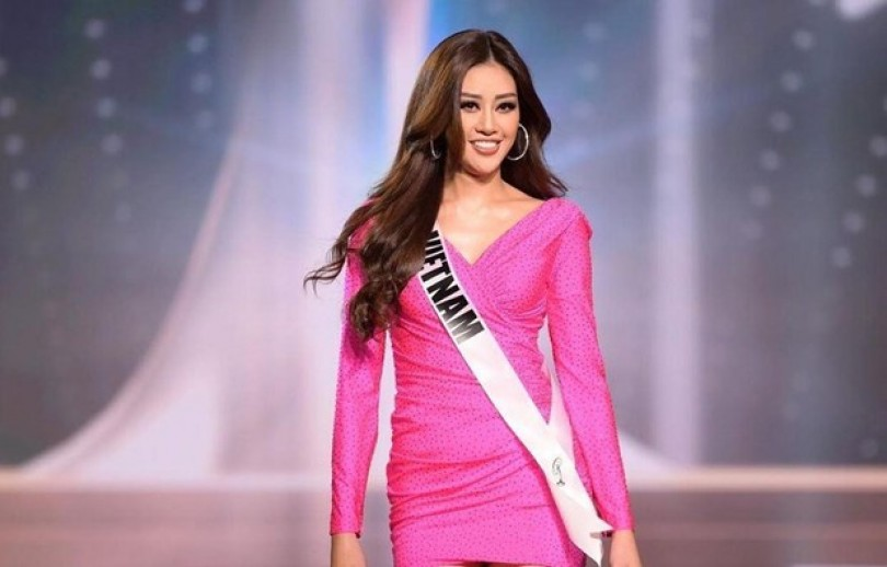 Vietnamese beauty enters Top 21 at Miss Universe 2020